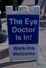 Eye Doctor Sign
