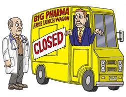 Big Pharma Free Lunch Wagon