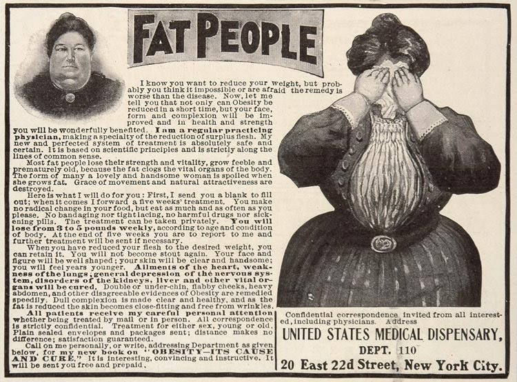 Fat People Ad