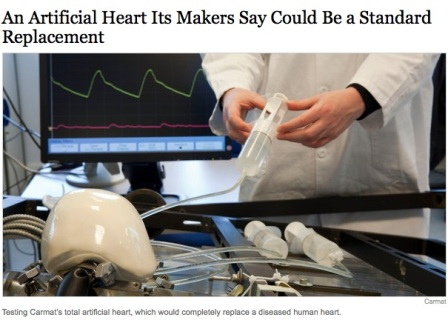 NYT Artificial Heart Story