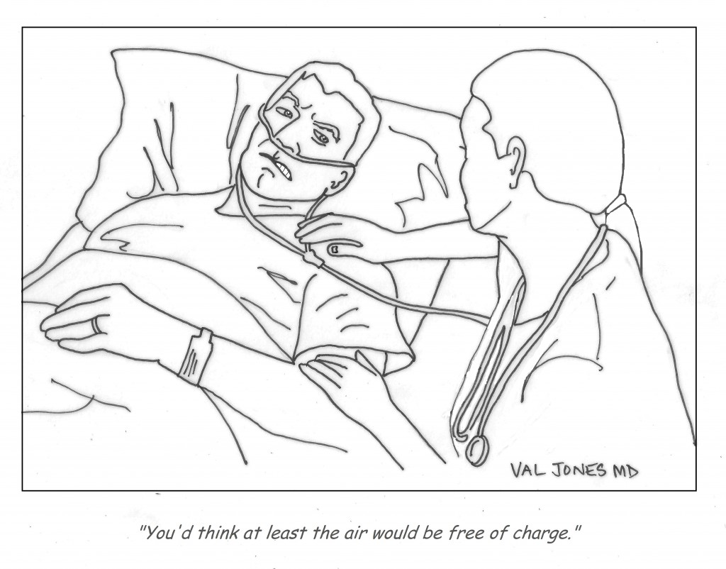 Funny Cartoon Hospital Pics cartoon: hospital charges are out of control - better health